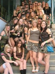 Group of sexy girlfriends, exciting girls erotic..