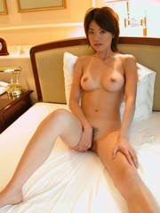 Titted Japanese girlfriend with big pillows and..