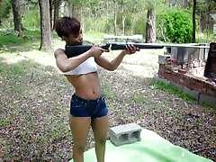 Gun-Toting Sexy Black ASS OMG!! - Ameman
