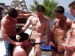 Gay gangbang