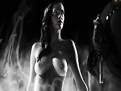 Busty Eva Green nude in sin city
