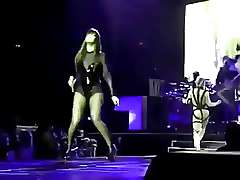 Famous american singer Rihanna ass..
