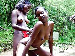 Young ebony girlfriends, Trini Local..