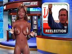 Selena Valentine on Naked News