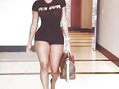 Nya Lee, Big Booty Model Walkaway