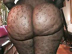 Monster black Ass solo video