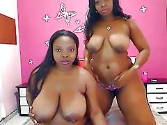 Busty african webcam models, natural..