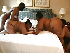 Black swingers, Big Booty Bbw 4some