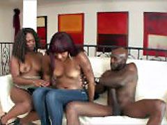 Mature ebony women banged by a monster..