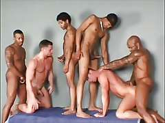 A good time had by all, mega gay orgy