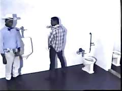 JJ Wadd fucks a horny dude in a public restroom