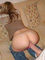 The young teen girl with tight slits and round..